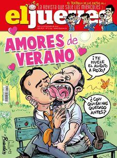 Portada Revista El Jueves nº. 2194 Humor Grafico, Comic Books, Digital, Html, Products, Amor, World, Comics, Journals