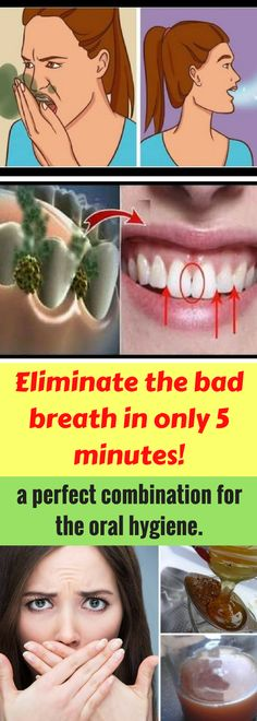 Bad breath is something many people face with but it doesn't always happen as a result of poor oral hygiene. A lot of people have bad breath and even though they brush their teeth regularly it is still there and they feel uncomfortable.
