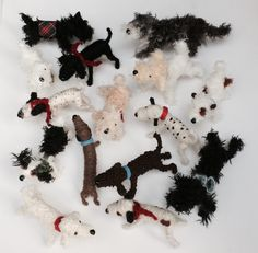 Dog Lover Gifts, Dog Gifts, Dog Lovers, Scruffy Dogs, Miniature Dogs, Felt Dogs, Mixed Breed, Labradoodle, Yorkshire Terrier