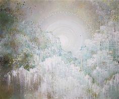 Emma Lindström - Hapono I Acrylic & Spraypaint on Canvas, Paintings