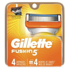 Gillette Fusion Power Razor delivers advanced Shaving Technology that gives you an exceptional, comfortable close shave. Each blade is spaced closer together and is equipped with a Indicator Lubrication Strip for more comfort and less irritation. Gillette Razor, Sensitive Men, Gillette Fusion, Mens Razors, Disposable Razor, Power Man, Close Shave, Shave Gel, Personal Hygiene