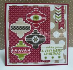 HAPPY HEART CARDS: JAI #183: STAMPIN' UP! CHRISTMAS COLLECTIBLES