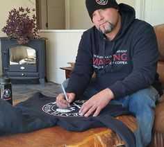 Win a Death Wish Hoodie signed by Todd Dewey [Ice Road Truckers, Axe Men]