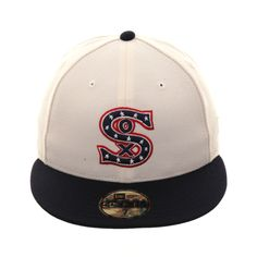 06773dbec8d26f Exclusive New Era 59Fifty Chicago White Sox 1917 Hat - 2T White, Navy
