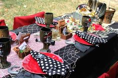 pirate table setting