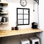 """Instagram photo by butarewereallybasic - Up on the blog today, a DIY for you! With Christmas approaching we will have more """"things"""" that will need a home. I created this empty wall space into a functional area that is used for extra seating and a spot to show off some of my favorite kitchen items. 👍🏼 . . . . . . #blog #diy #diyblogger #blogger #bloggerstyle #bloggerdecor #minimalist #scandinaviandesign #homedecor #cyberme #follow #cybercorner #monday #mondaymotivation #fashiondiaries…"""