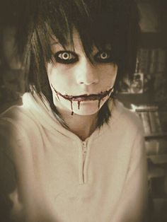 Once again I could care less about creepypasta...but yet again...I find myself trapped when I look at this...