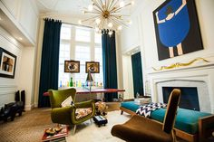 Jonathan Adler's New York Office Space Is Just Like Him: Colorful, Chic And Kind Of Kooky (PHOTOS)
