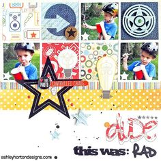 Layouts We Love   May 28 - June 3 - I would add one more picture instead of embellishment. Cute!