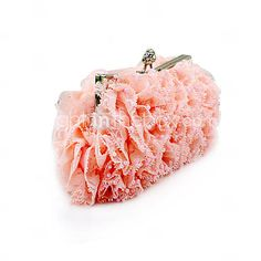 Gorgeous Lace Shell With Beadings Evening Handbags/ Clutches More Colors Available