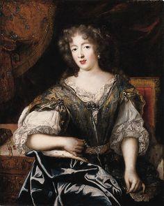 Duchesse de La Valliere,c1670 Pierre Mignard ✏✏✏✏✏✏✏✏✏✏✏✏✏✏✏✏ IDEE CADEAU / CUTE GIFT IDEA ☞ http://gabyfeeriefr.tumblr.com/archive ✏✏✏✏✏✏✏✏✏✏✏✏✏✏✏✏