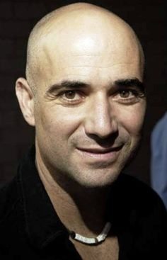 --favorite tennis player of all time, andre agassi <3