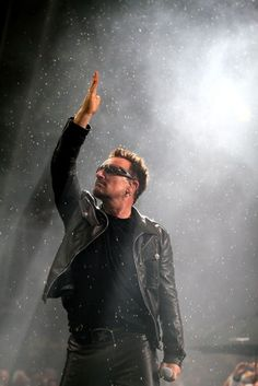 Bono. Up close and personal. Innocence + Experience tour