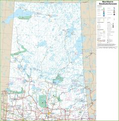 Saskatchewan highway map | Maps | Pinterest | Highway map