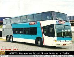 Ônibus da empresa Empresa de Ônibus Nossa Senhora da Penha, carro 40003, carroceria Marcopolo Paradiso GV 1800 DD, chassi Scania K113TL. Foto na cidade de - por ACVO: Empresa d Ônibus N S Penha, publicada em 11/08/2017 23:25:30.