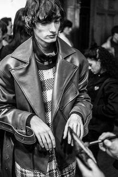 PFW Backstage: WOOYOUNGMI Fall Winter 2018/19