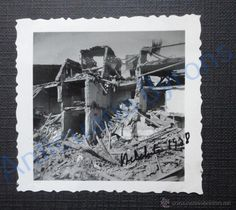 FOTOGRAFÍA ANTIGUA ORIGINAL. BELCHITE. AÑO 1938. (6 X 6 CM) - Foto 1