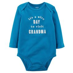 Baby Boy Carter\'s Slogan Bodysuit