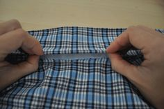 Sew shirt collar