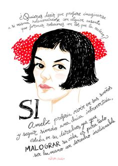 Bylaziesvisa shop https://www.etsy.com/es/listing/198201499/amelie-frases-impresion-profesional-a4