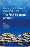 This volume celebrates the first fifty years of the International Centre for Settlement of Investment Disputes (ICSID) by presenting the landmark cases that have been decided under its auspices. These cases have addressed every aspect of investment disputes: jurisdictional thresholds; the substantive obligations found in investment treaties, contracts, and legislation; questions of general international law; and a number of novel procedural issues.
