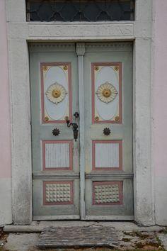 old door with interesting details