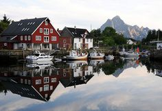Kabelvag, Lofoten Islands, Norway. pretty sure if i go there i wont be coming home any time soon