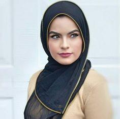 Omayazein | @velascarves Beautiful Hijab, Beautiful Women, Abaya Dubai, Niqab, Muslim Women, Turban, Hijab Fashion, Shawl, Lady