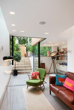 Aberavon Road, London, 2013 - Inside Out Architecture Terrace Building, London House, Interior Decorating, Interior Design, House Extensions, Contemporary Interior, Victorian Homes, Home And Living, Interior Inspiration