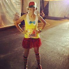 tweedle-running-costume