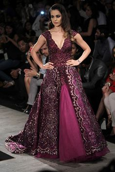 Manav Gangwani. AICW 15'. Indian Couture.