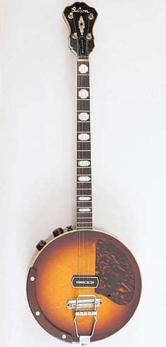 Gibson Custom Electric Tenor Banjo --- Banjo's are not my favorite, but I love this design