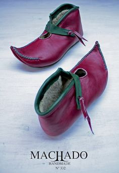 Machado handmade shoes...in case you want to look like an elf...or the Pope.