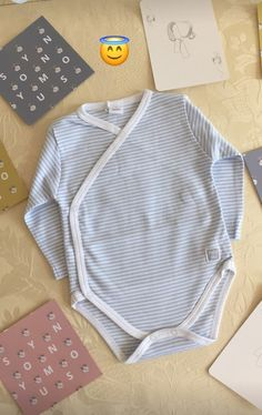 This lovely blue baby bodysuit can be found at synonymouss.com follow us on Instagram @synonymousss to see behind the scenes and sneak peaks of our collections