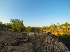 Walking to the Mitchell Falls, Western Australia