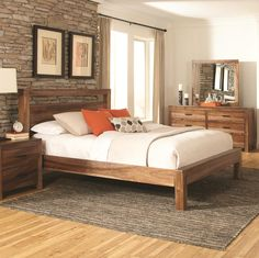 Peyton King Platform Bed by Coaster