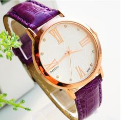 Leather Watchband Quartz Wrist Watch for Women for R118.99 today only #watches #dealoftheday