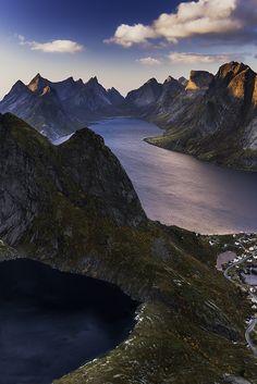 Reinebringen view - Lofoten - Norway