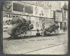 Early photo of NYC and Vintage Posters www.ruemarcellin.com