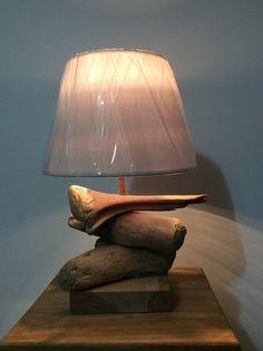 Lampe en bois flotté 12