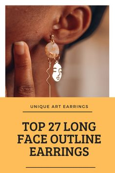 Long, cute and unique earrings are not the trend but we beg to differ. Adorn your ears with great details. We clearly understood the unique fashion assignment Face Earrings, Purple Earrings, Unique Earrings, Clay Earrings, Face Outline, Long Faces, Confident Woman, Jewelry Holder, Handmade Clothes