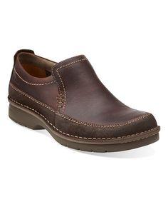 Look at this #zulilyfind! Brown Seeley Step Leather Loafer #zulilyfinds