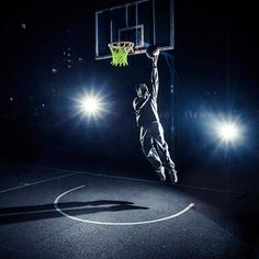 Luminous Basketball Net – The Caveman's Guide Basketball Games, Basketball Court, Sun Power, Man Cave, Around The Worlds, Backyard, Park, Awesome, Outdoor