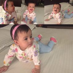 MS #Dhoni shares his daughter #Ziva's pics.