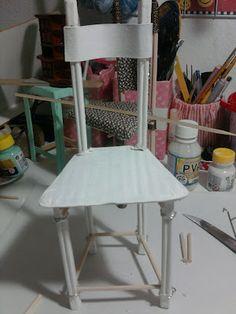 Raminhos de Pano: Passo-a-Passo Miniatura de Novas Cadeiras