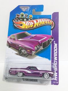 HOT WHEELS 2013 SUPER TREASURE HUNT '72 FORD RANCHERO. Please visit hotkustoms.blogspot.sg/ for more images in gallery. Cheers!