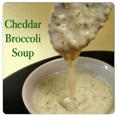 Recipe, Travel and Family Blog | Purple Oven Mitt : Cheddar Broccoli Soup in the Ninja / Slow Cooker