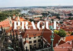 Travel with me around the Czech Republic & Prague - tips & tricks on where to find the best hotels, restaurants, attractions and things to do in this stunning European country  Cityscape Bliss // Prague