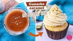 🧂 GANACHE CARAMEL AU BEURRE SALÉ 🧂 Caramel Ganache, Creme Caramel, Macarons, Foie Gras, Cupcakes, Dessert Recipes, Pudding, Sweets, Parfait