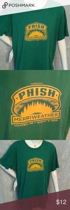 Phish Summer Tour 2009 tshirt From the Columbia MD show, 2009 Shirts Tees - Short Sleeve